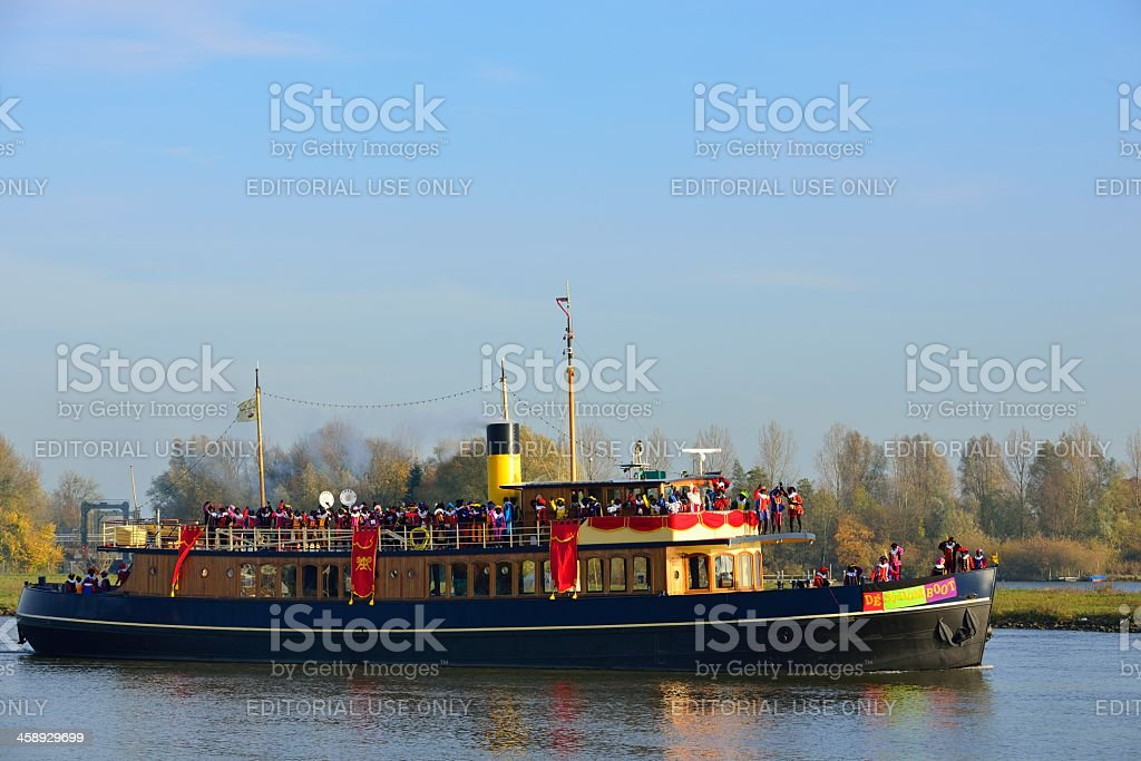 Stoomboot stock photo