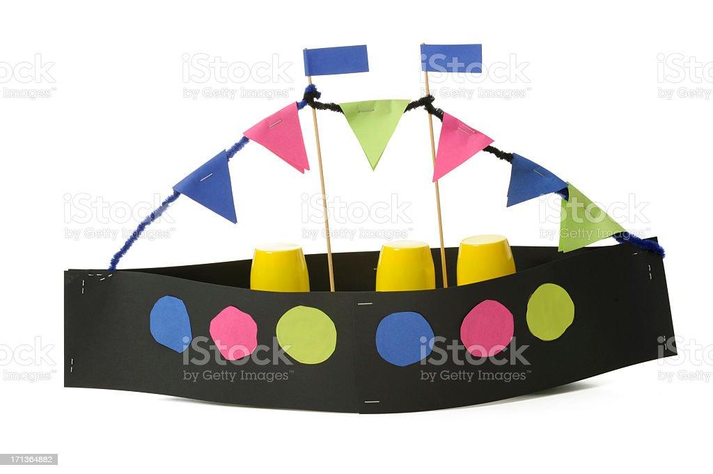 Stoomboot Sinterklaas stock photo
