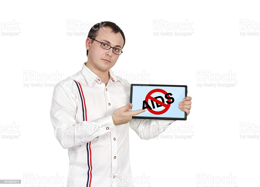 stop aids royalty-free stock photo