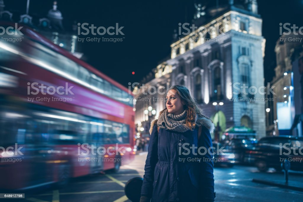 Stop and stare stock photo