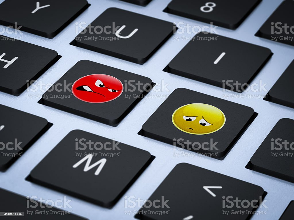 stop bullying internet concept stock photo