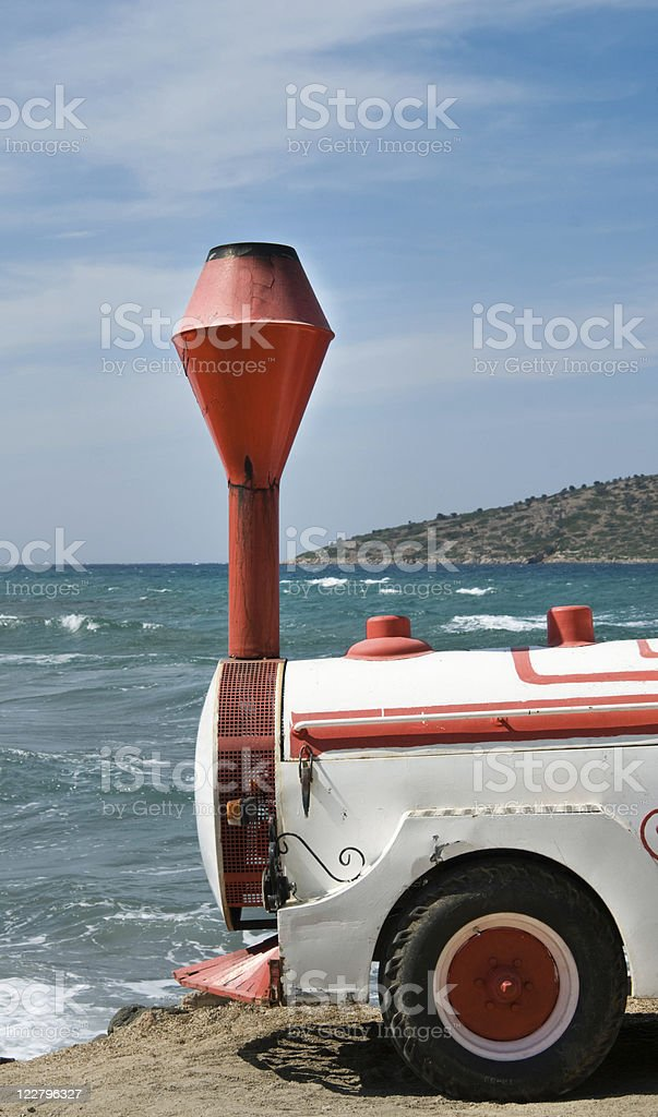 Stop by the sea royalty-free stock photo