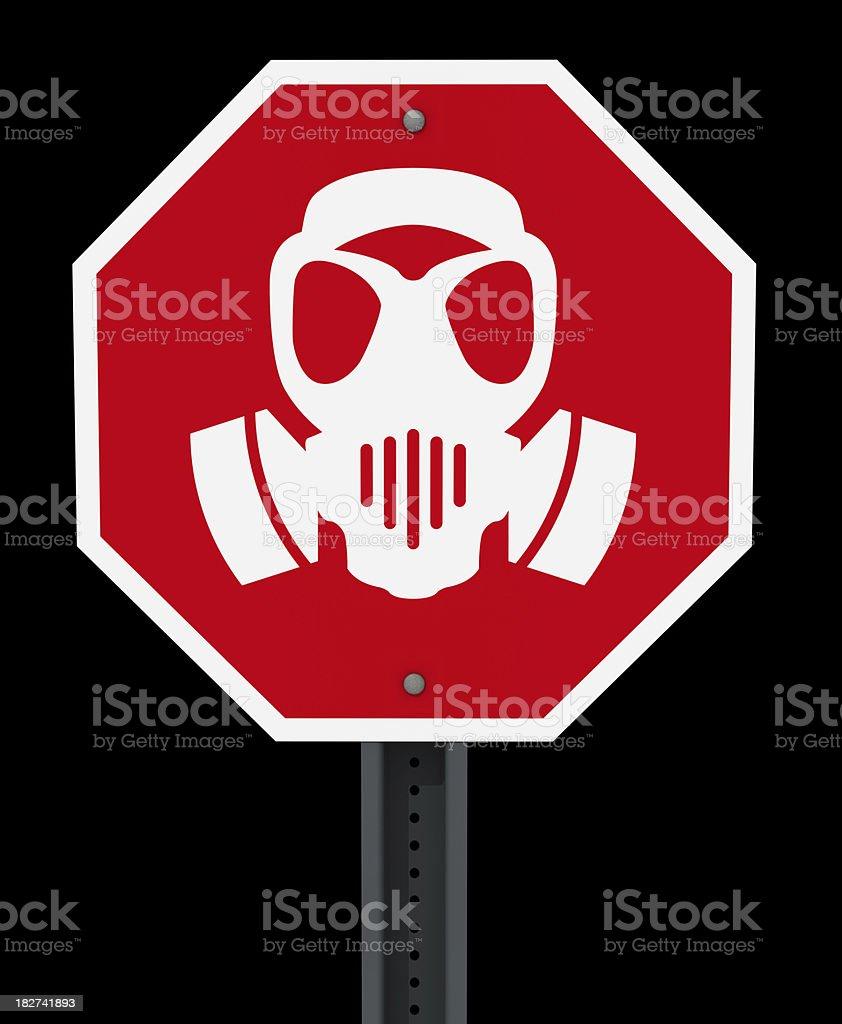 Stop Chemical Warfare stock photo