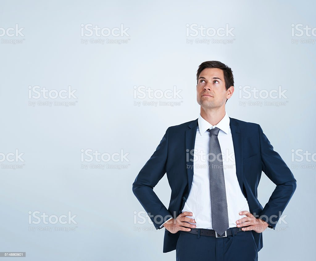 Stop dreaming about success and start working for it stock photo