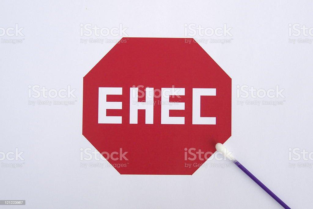 Stop EHEC stock photo