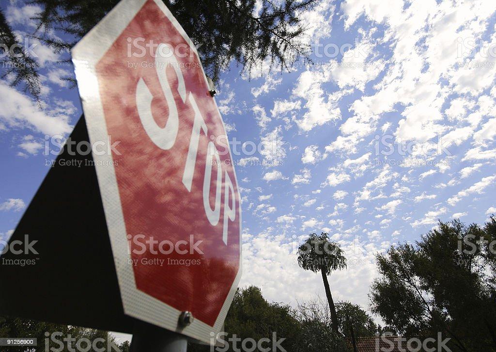 Stop Global Warming royalty-free stock photo