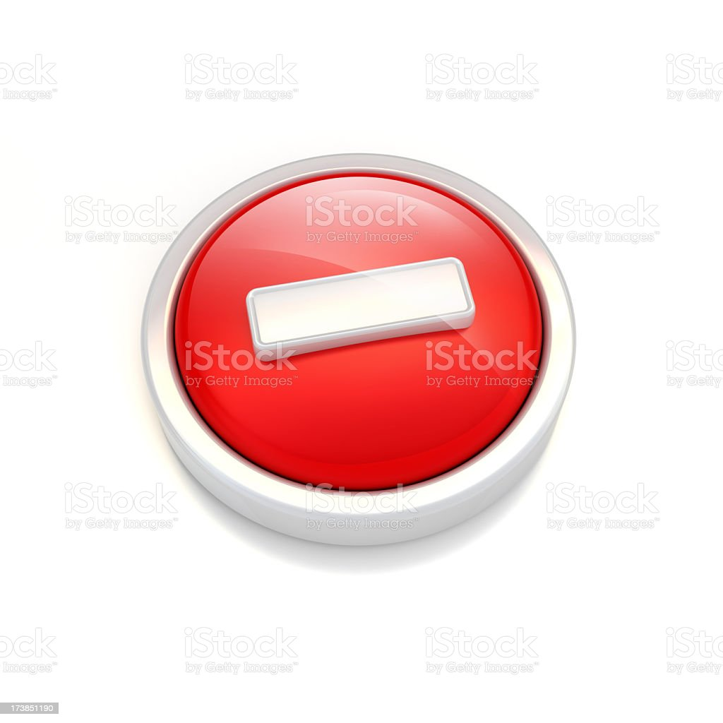 stop icon stock photo
