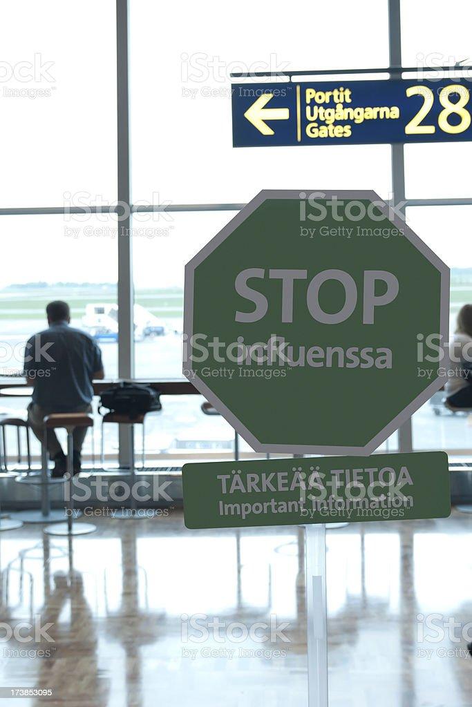 Stop Influenza royalty-free stock photo