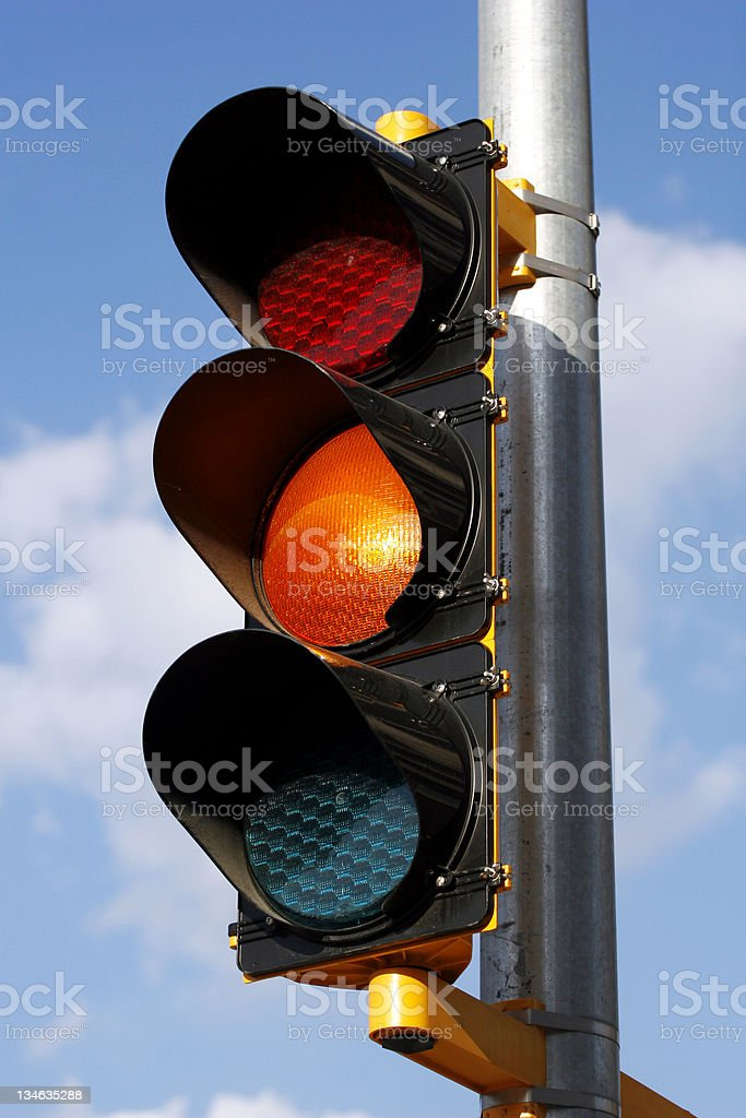 Stop Light royalty-free stock photo