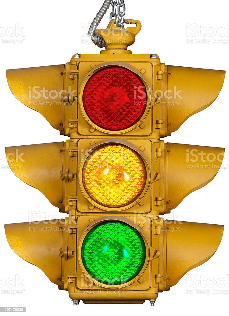 Stop Light stock photo