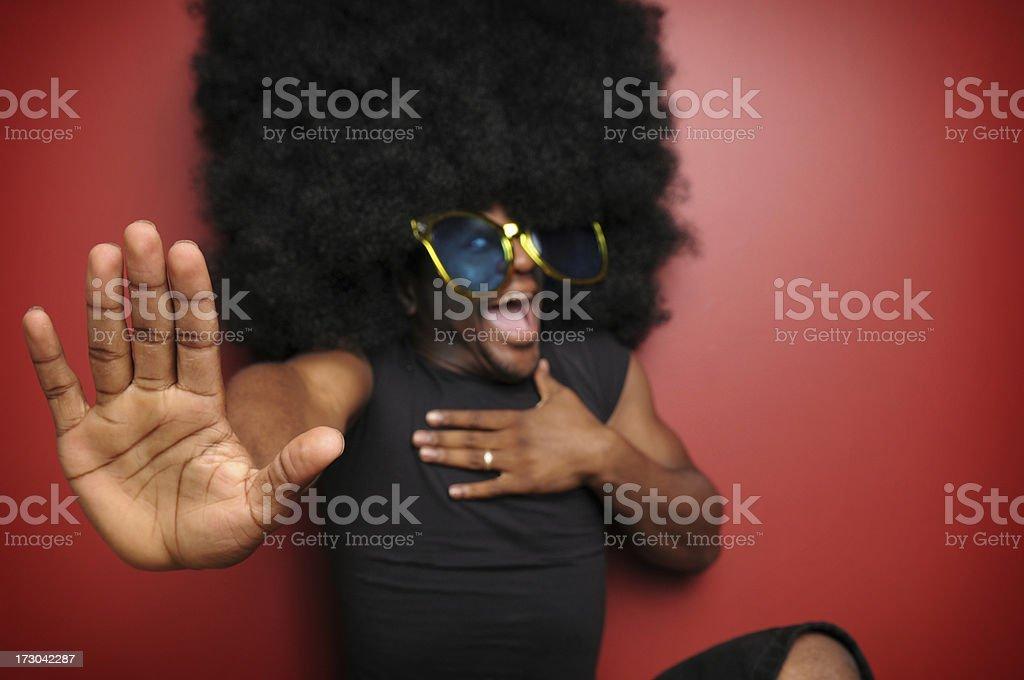 Stop me now! (XL) royalty-free stock photo