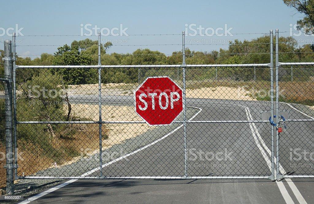 Stop. No entry. stock photo