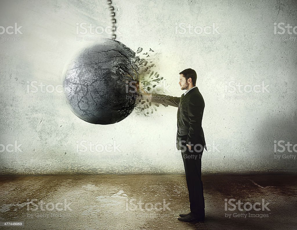 stop now! stock photo