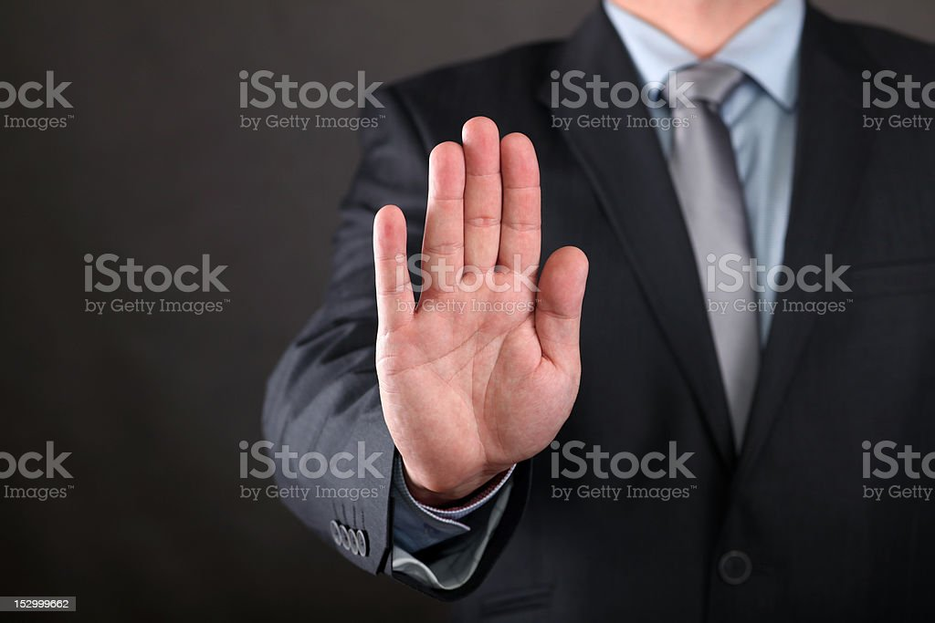 Stop stock photo