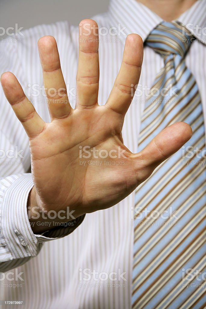 Stop!!! royalty-free stock photo