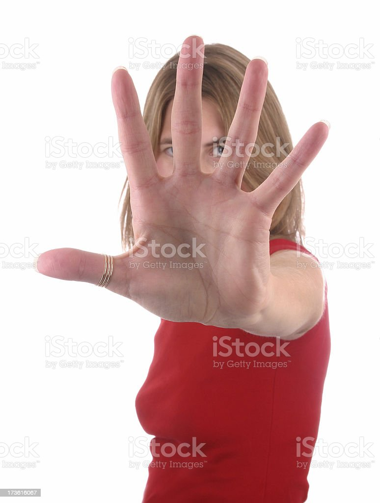 Stop!! royalty-free stock photo