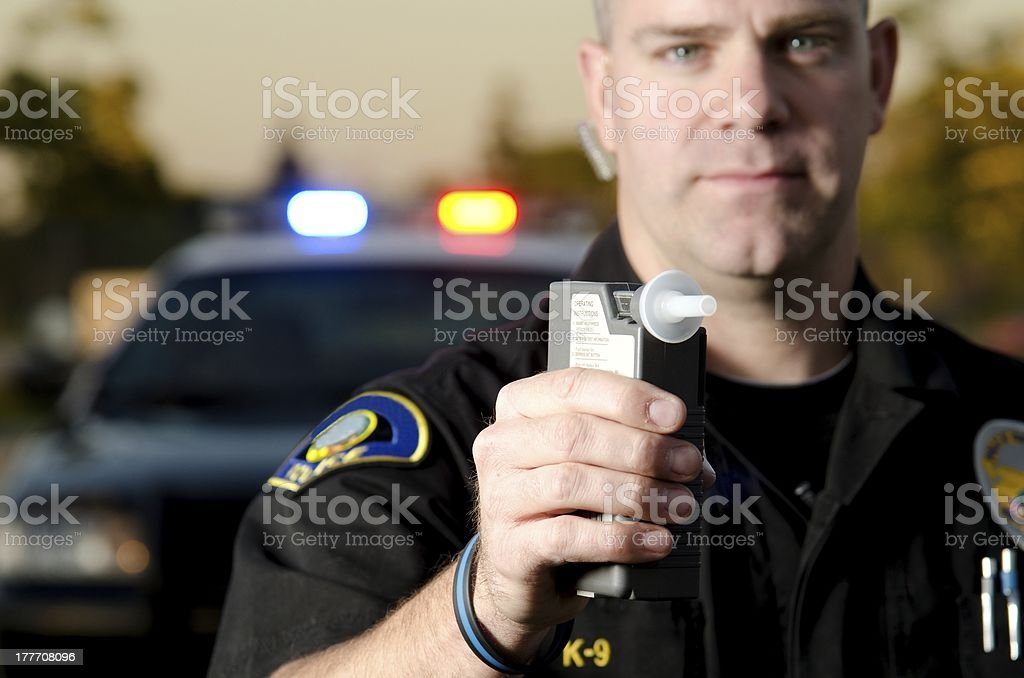 DUI Stop stock photo