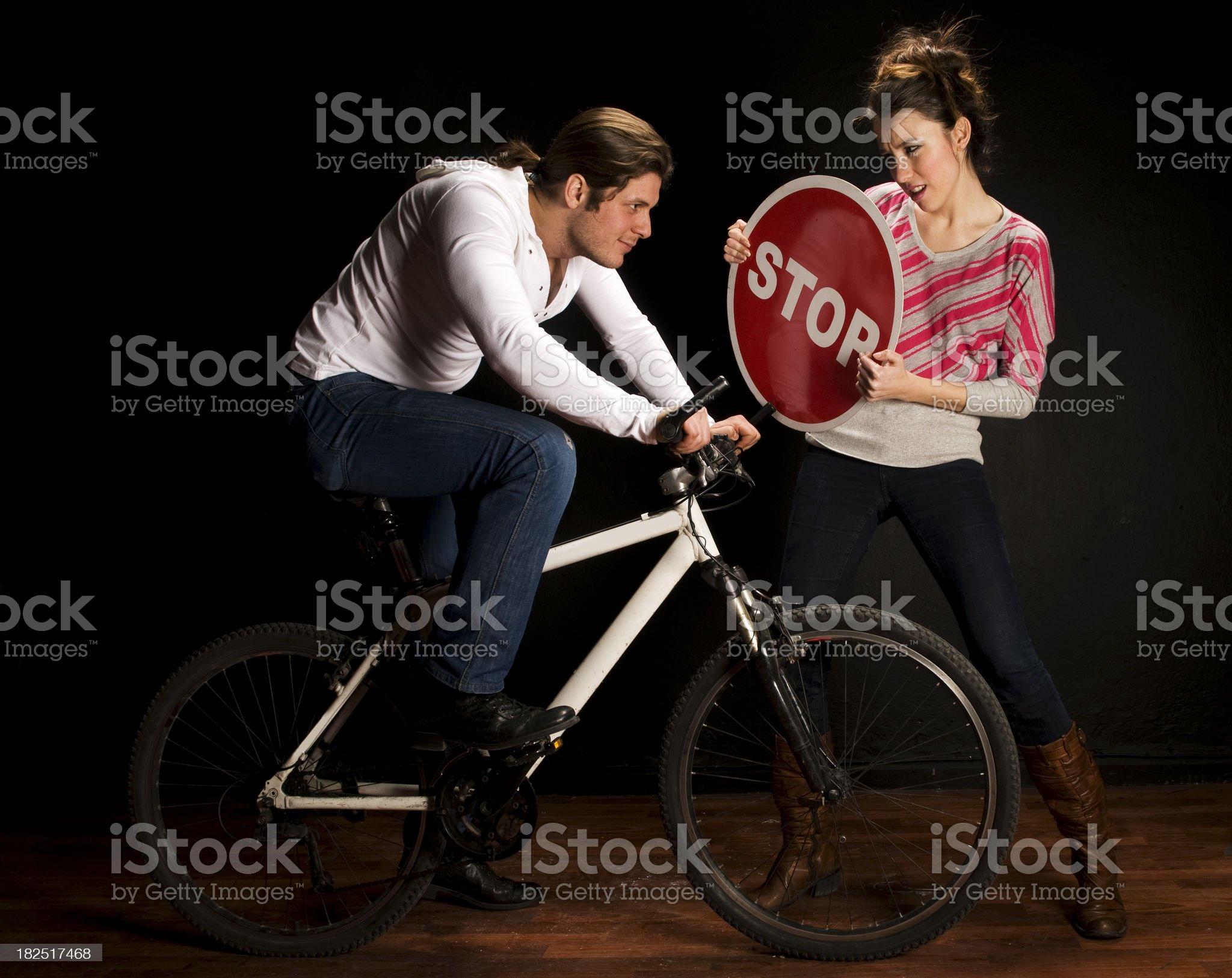 Stop! royalty-free stock photo
