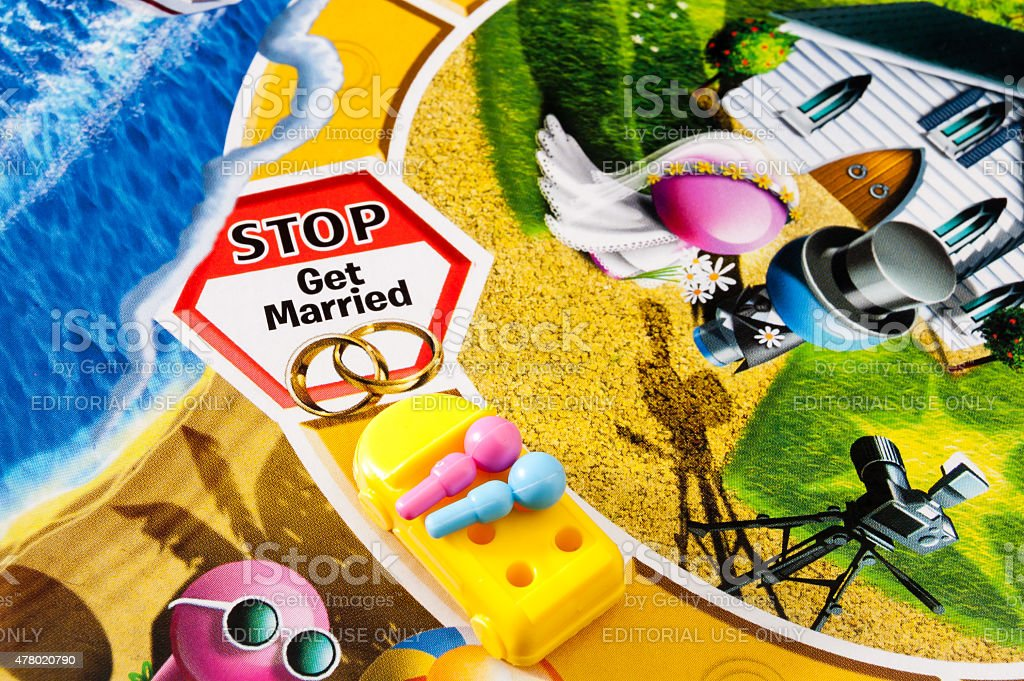 Image result for get married game of life