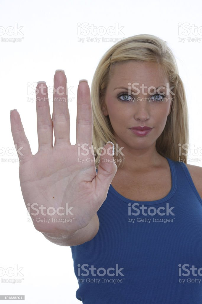stop right there stock photo