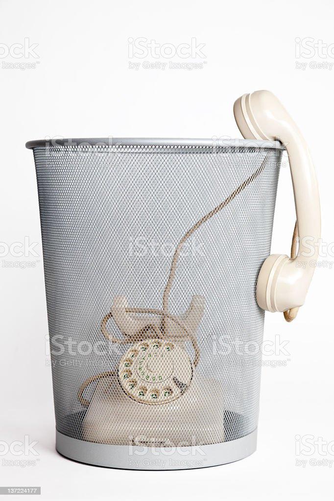 stop ringing royalty-free stock photo