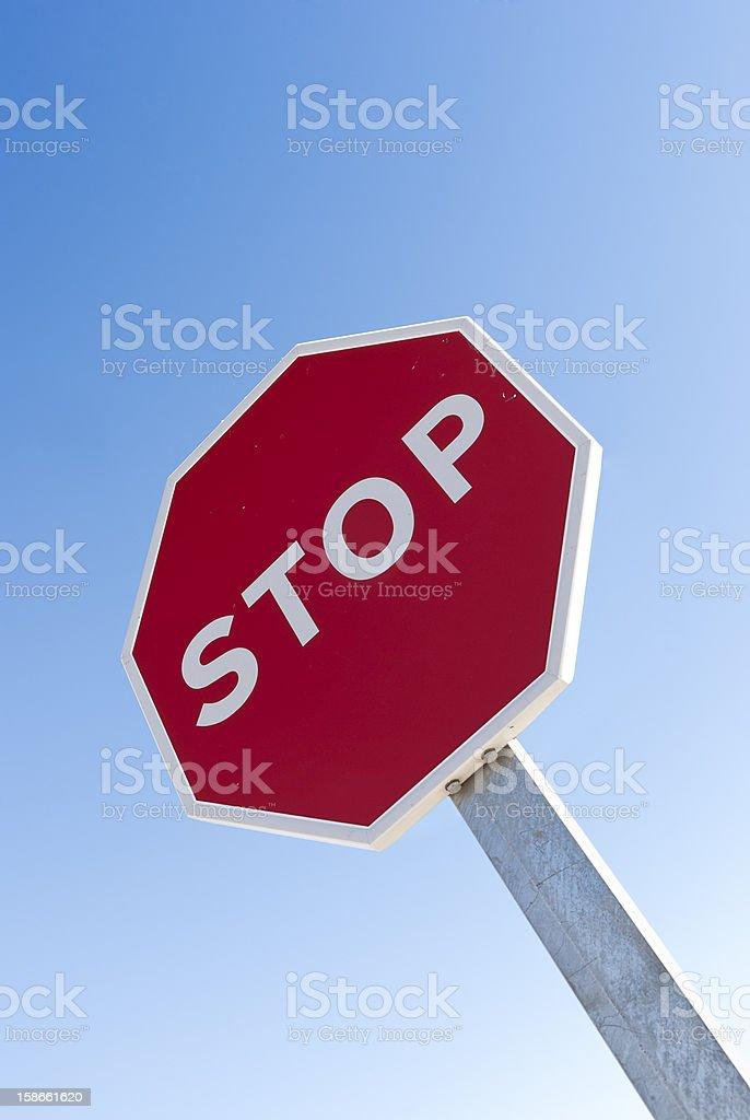 Señal de Stop - foto de stock