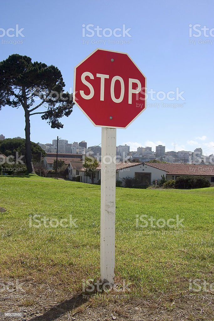 Stop Sign #2 stock photo