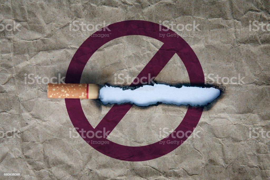 stop smoking concept stock photo
