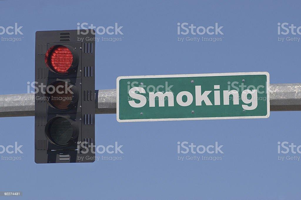 Stop Smoking royalty-free stock photo