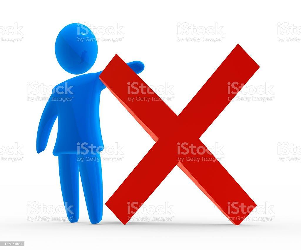 Stop symbol royalty-free stock photo