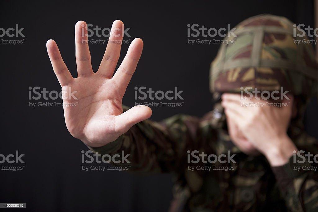 Stop The Nightmares stock photo
