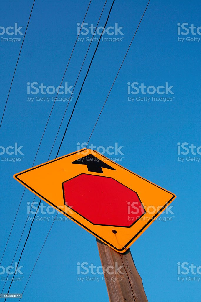 stop up there stock photo