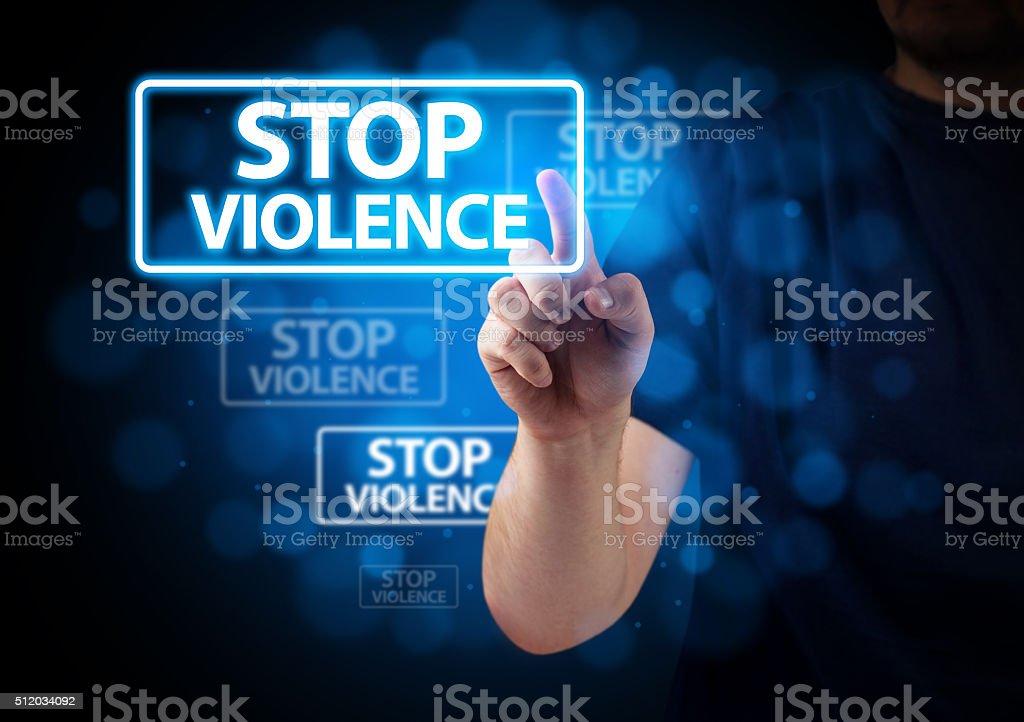 Stop Violence Background stock photo