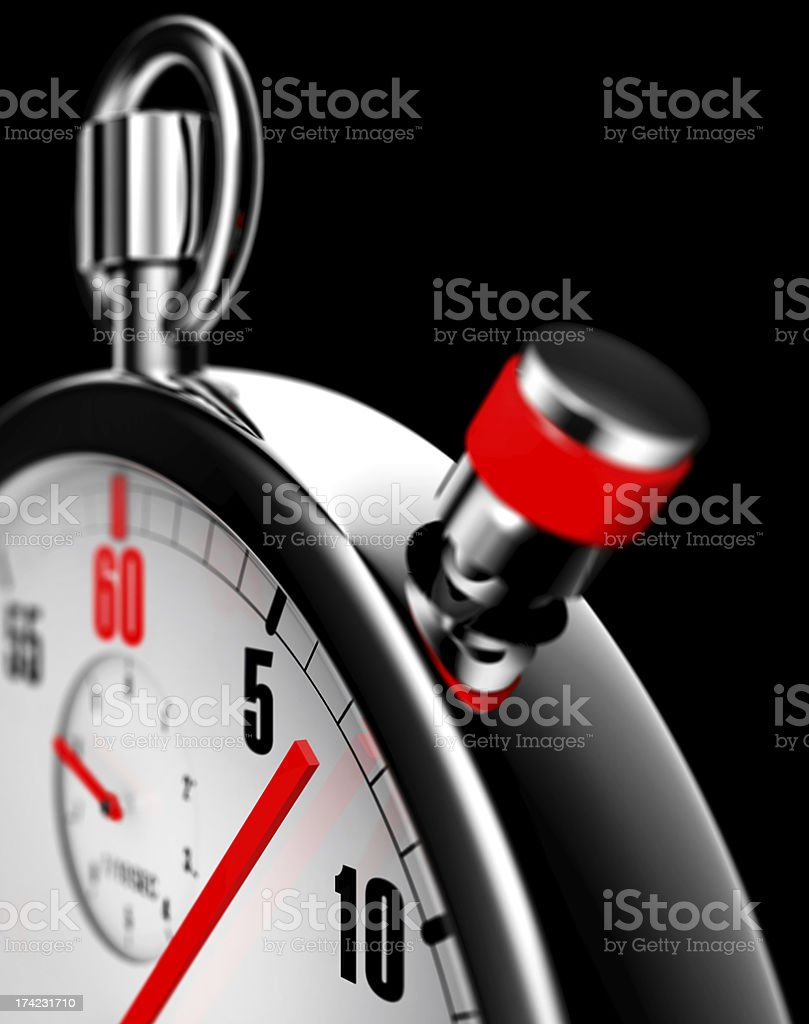 stop watch royalty-free stock photo