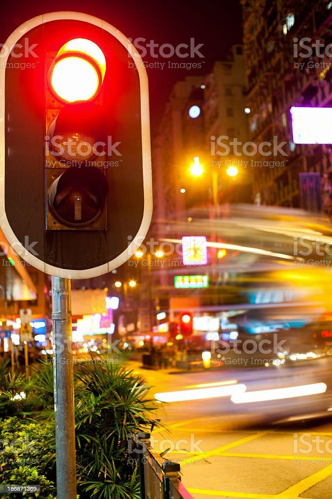 Stoplight royalty-free stock photo