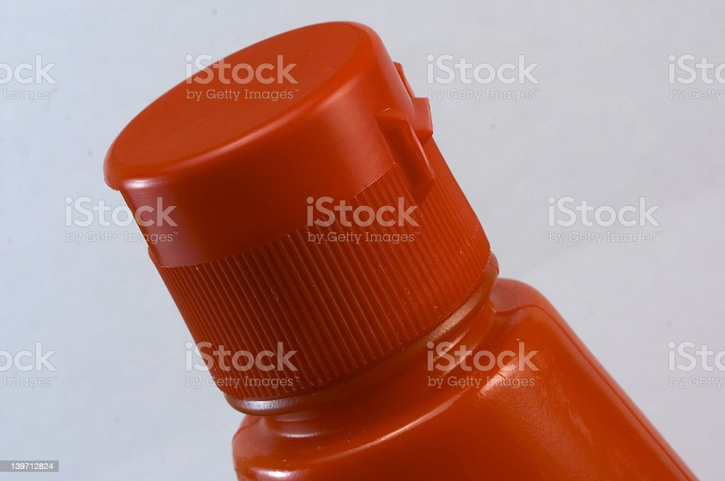 Stopper of Ketchup royalty-free stock photo