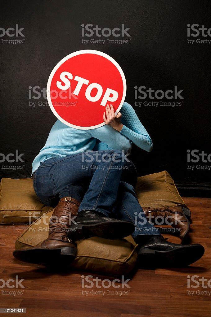 Stoppp! royalty-free stock photo