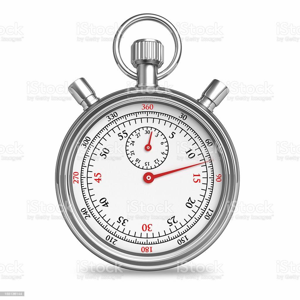 Stopwatch Clock royalty-free stock photo