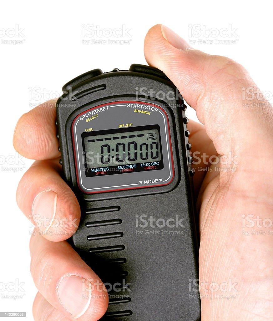 Stopwatch stock photo