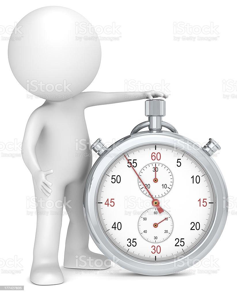 Stopwatch. royalty-free stock photo