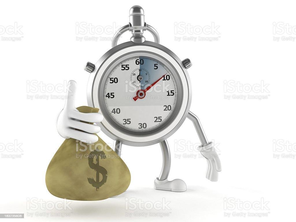 Stopwatch royalty-free stock photo
