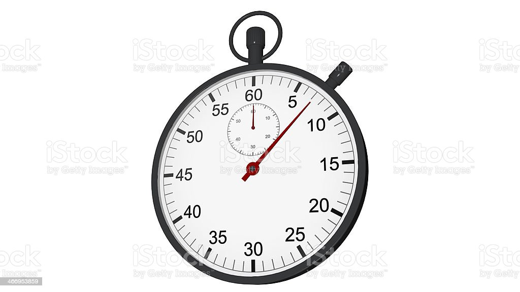 Stopwatch royalty-free stock photo