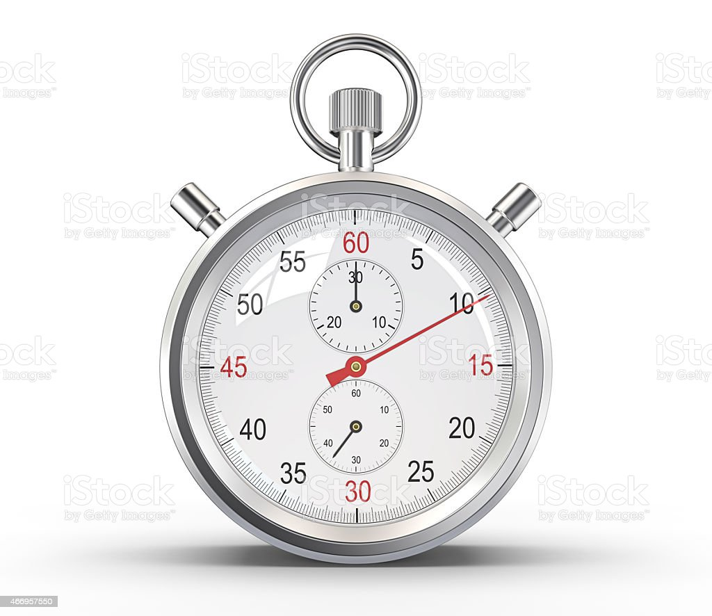 Stopwatch. stock photo