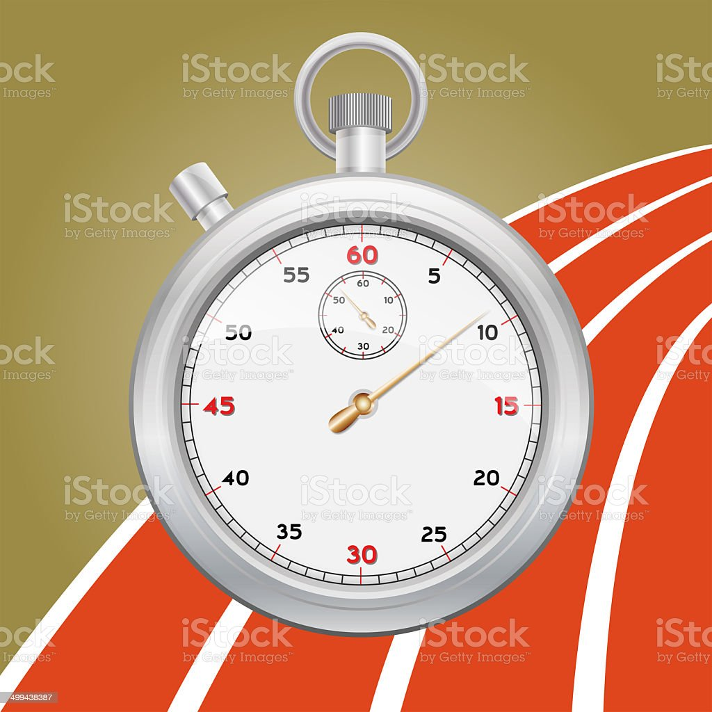 Stopwatch stock photo