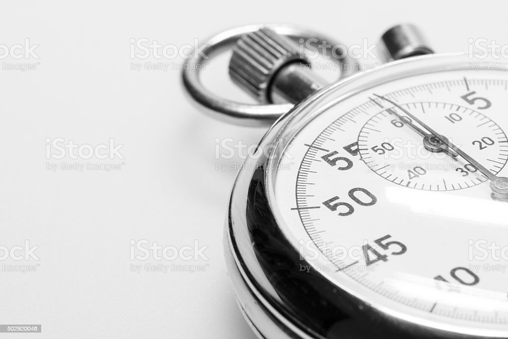 Stop-watch stock photo