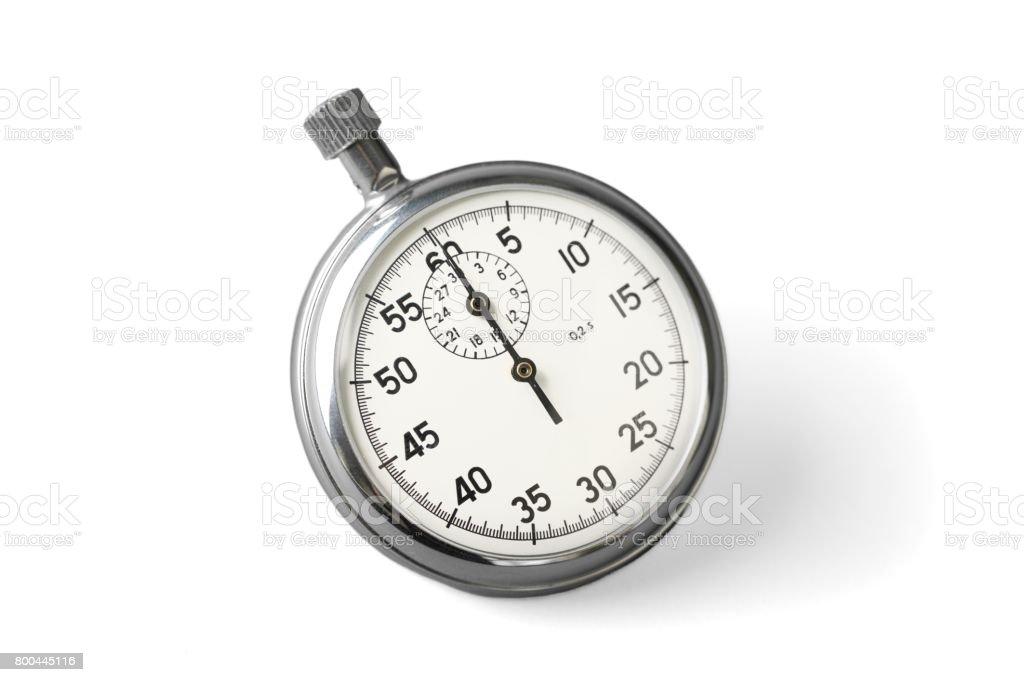 Stopwatch. stock photo