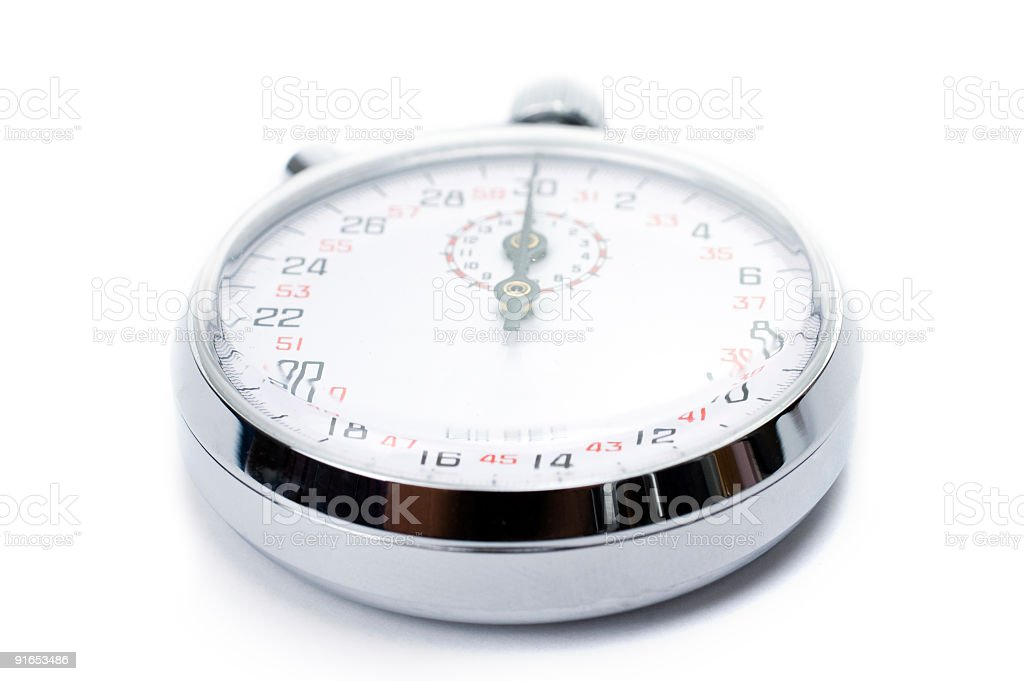 stop-watch royalty-free stock photo