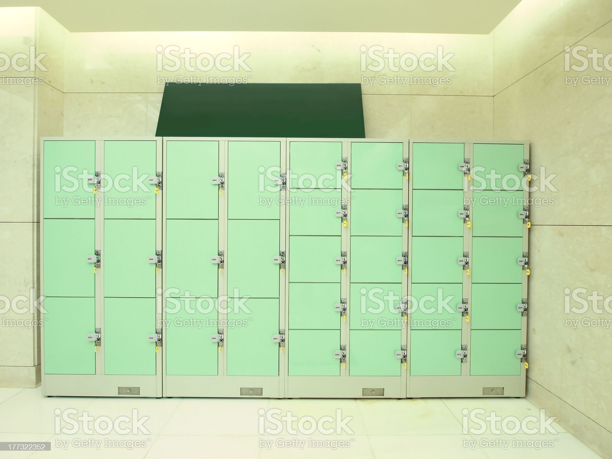 Storage area royalty-free stock photo