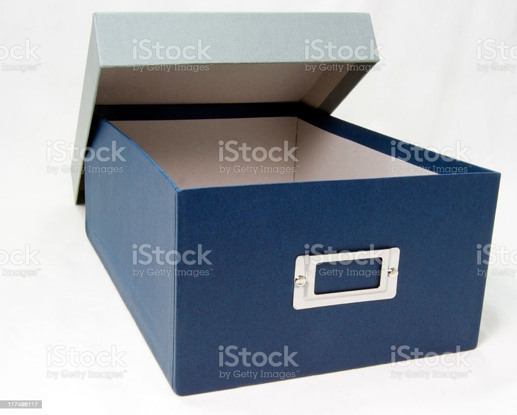 Storage Box stock photo
