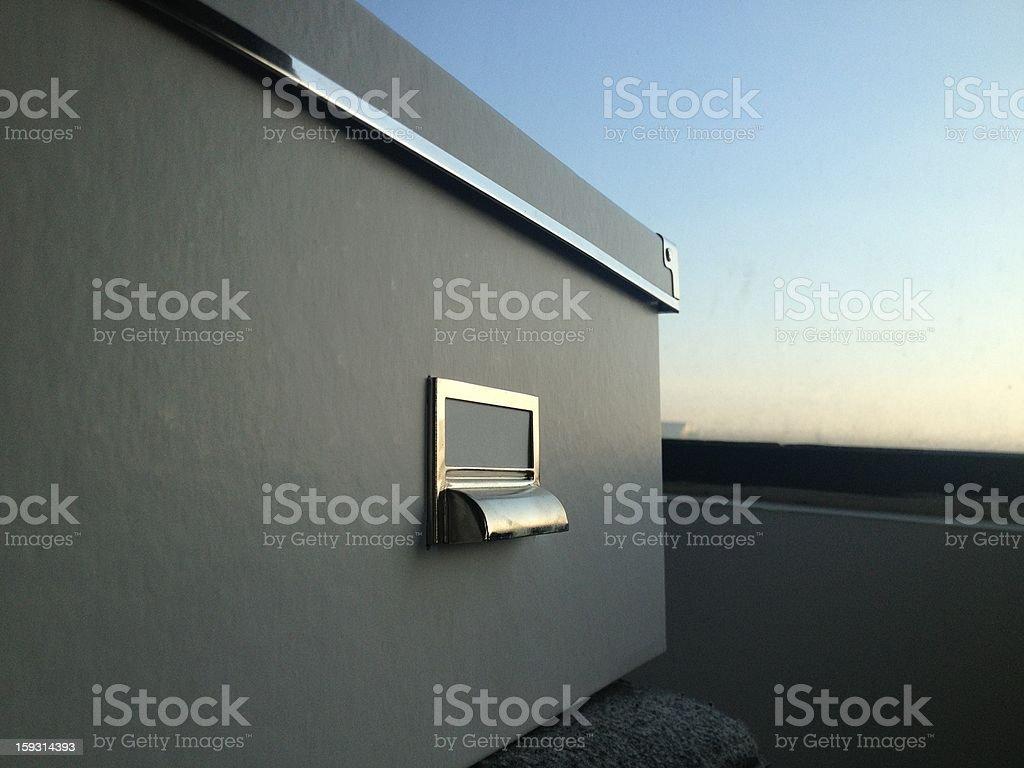 Storage Box royalty-free stock photo